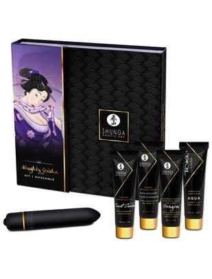 Shunga Naughty Geisha набор интимной косметики + вибратор