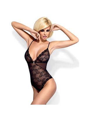 Obsessive black mesh body