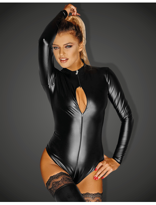 Noir Handmade black wetlook body