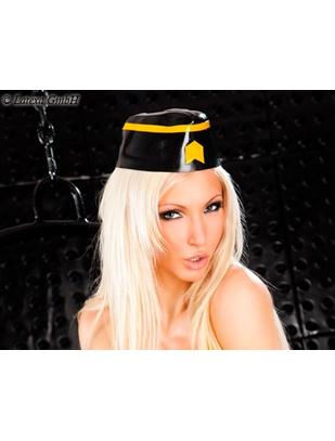 Latexa lateksa militārā cepure
