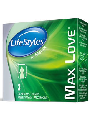 LifeStyles Max Love (3 tk.)