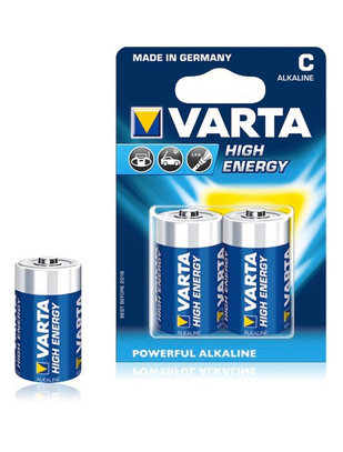 Varta High Energy Alkaline C (2 pcs)