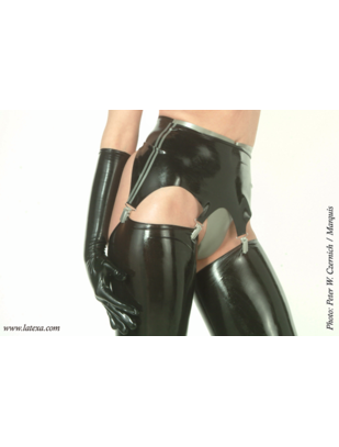 Latexa Suspender Belt