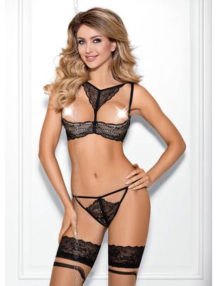 Axami Sexy Panna Cotta black lace bra
