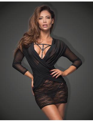 Noir Handmade черное кружевное платье