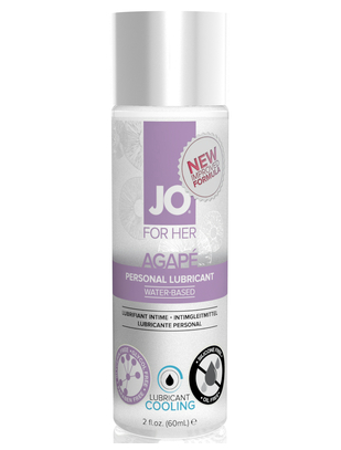 JO For Her Agapé Cooling Lubricant (60 ml)