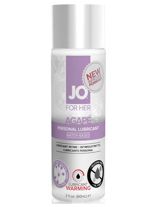 JO For Her Agapé Warming Lubricant (60 ml)