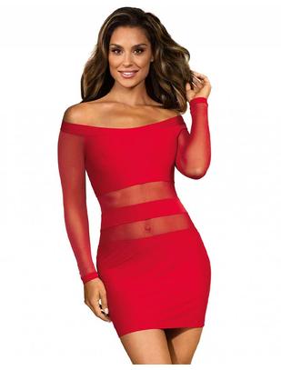 Axami Sexy Party at Ibiza Red Mini Dress
