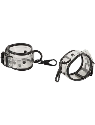 Bad Kitty Transparent Handcuffs