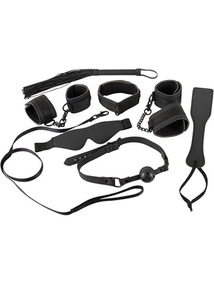Bad Kitty Black Restraint Set