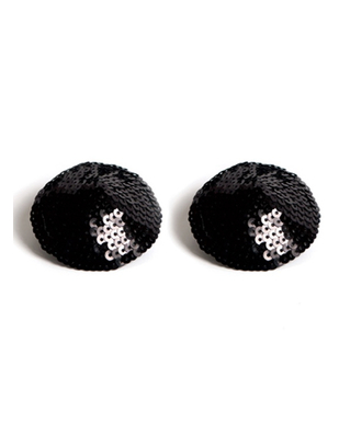 Bijoux Indiscrets juodi spenelių dekorai (2 vnt.)