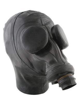 Mister B Russian Gasmask with Hood & Eyecaps