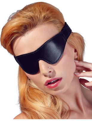 Fetish Collection black faux leather blindfold