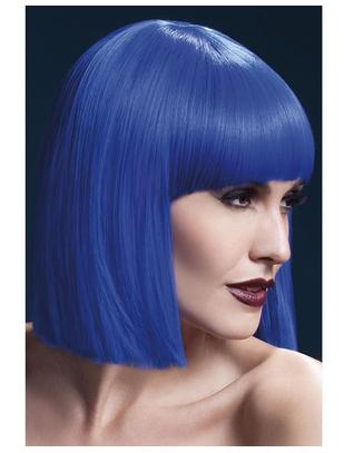Fever blue wig
