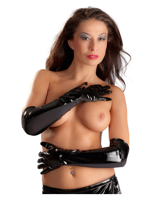 Black Level Vinyl Gloves
