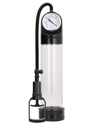 Shots Toys Pumped Comfort Pump with Advanced PSI Gauge