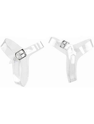 Pleaser прозрачные ремешки для туфель (2 шт.)