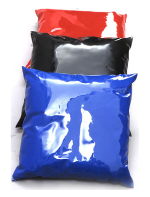 Blackstyle Latex pillow case, 40 x 40 cm