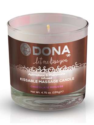 Dona Kissable aromātiska masāžas svece (135 ml)