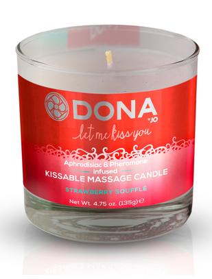 Dona Kissable ароматическая массажная свеча (135 мл)