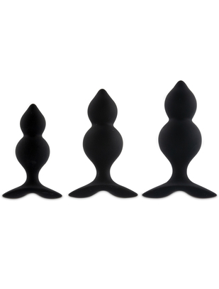 FeelzToys Bibi Twins 3-piece Butt Plug Set