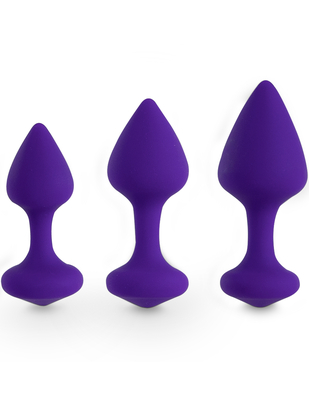 FeelzToys Bibi 3-piece Butt Plug Set
