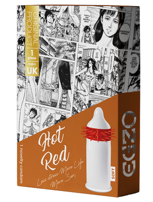 Egzo Hot Red Soft (1 tk.)