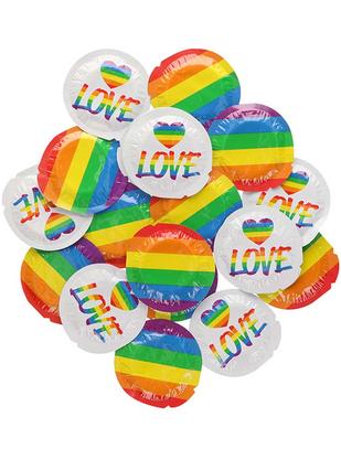 EXS Pride Rainbow Flag (100 vnt.)