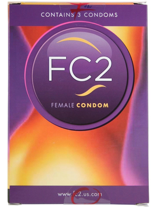 FC2 Female Condoms (3 pcs)