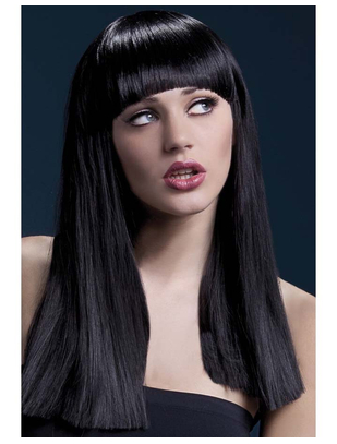 Fever Alexia Black Long Straight Wig