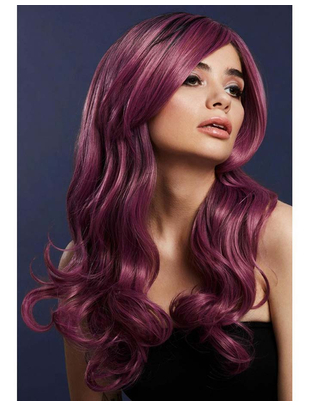 Fever Khloe Mauve Long Wave Wig