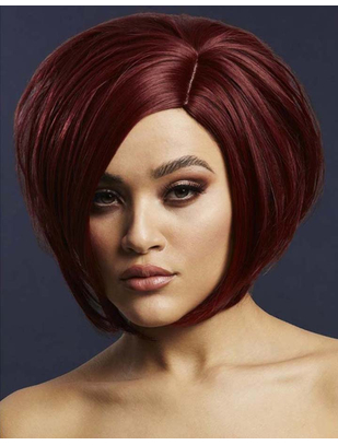 Fever Savanna темно-красный асимметричный парик