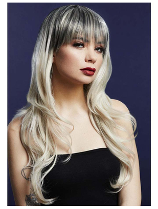Fever Sienna Blonde Wig with Dark Roots
