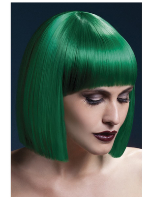 Fever Green wig