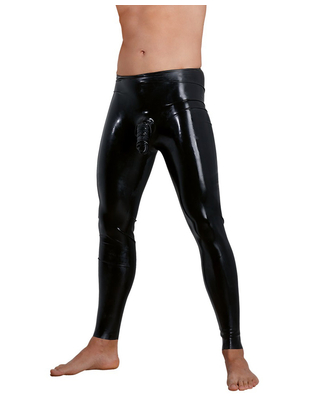 Late X Latex Pants with Sleeve