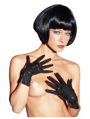 Late X Short latex gloves