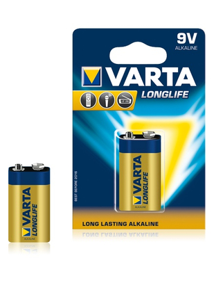 Varta 9V type battery (1 pc.)