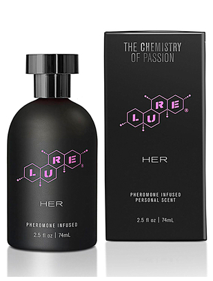 Lure Her Black Label Pheromone Scent (10 / 74 ml)