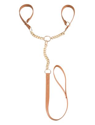 Bijoux Indiscrets MAZE vegan leather leash cuffs