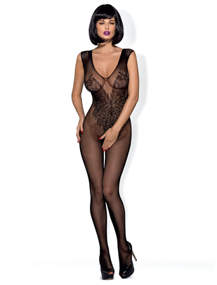 Obsessive black bodystocking