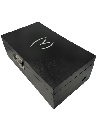 OpenMity lockable luxury wooden box for sex toys