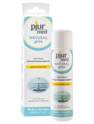 Pjur med Natural Glide (100 ml)