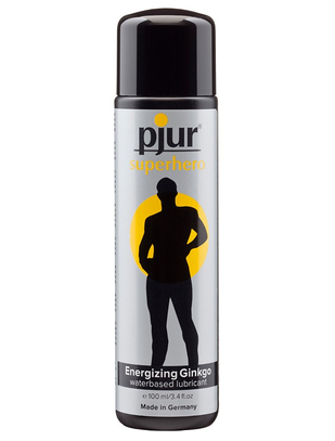 pjur Superhero Stimulating Lubricant with Ginkgo (100 ml)