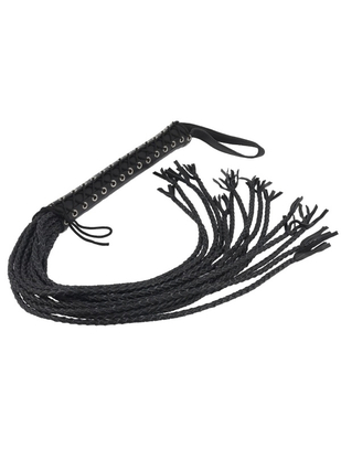 Let's Play Braided leather whip