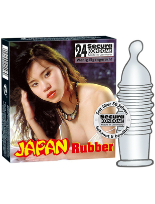 Secura Japan Rubber (24 tk.)