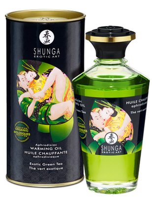 Shunga Aphrodisiac Warming Oil (100 ml)