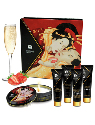 Shunga Geisha's Secret Sparkling Strawberry Wine