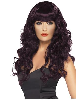 Fever Siren plum wig