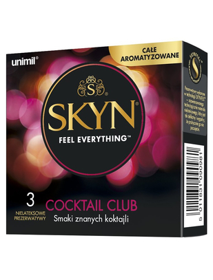 SKYN Cocktail Club (3 vnt.)