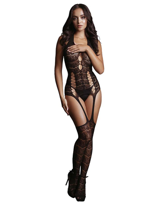 Le Désir Lace Suspender Bodystocking